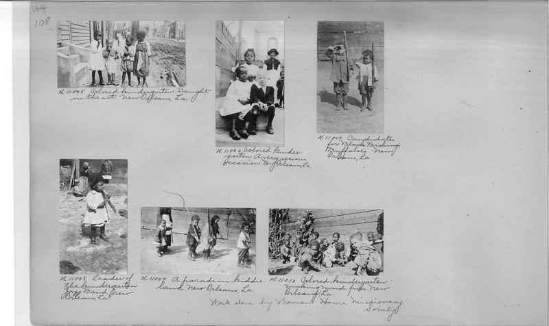 Mission Photograph Album - Negro #1 page 0108