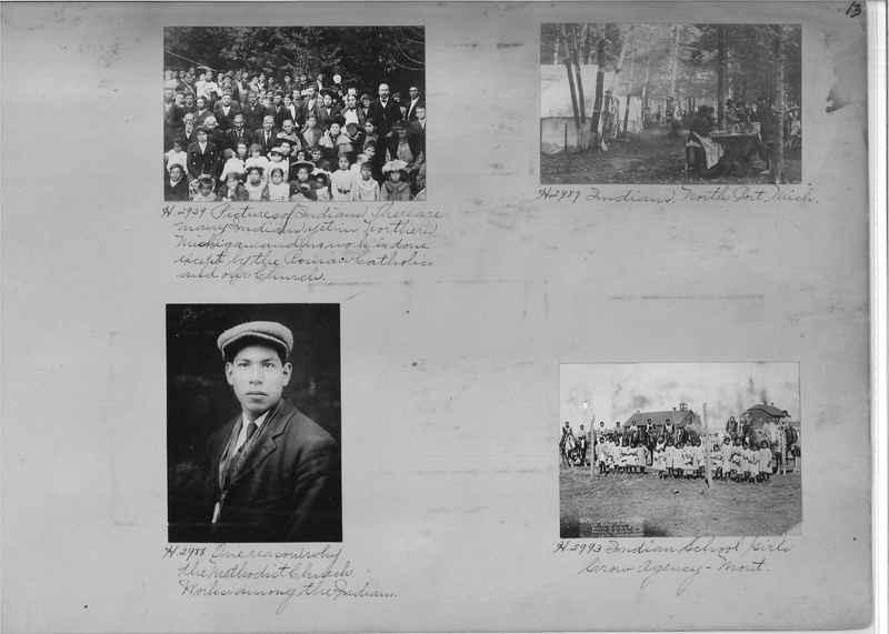 Mission Photograph Albums - Indians #1 page 0013