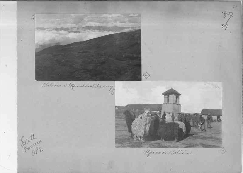 Mission Photograph Album - South America O.P. #2 page 0077