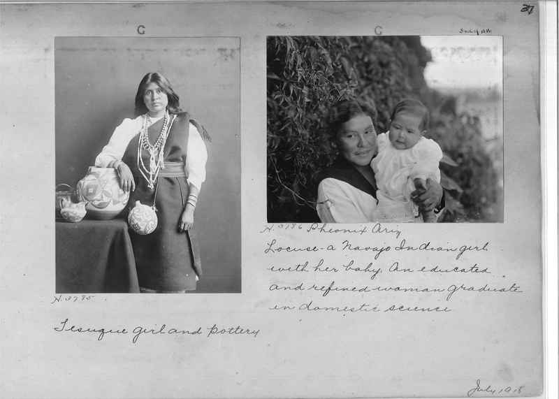 Mission Photograph Albums - Indians #1 page 0037