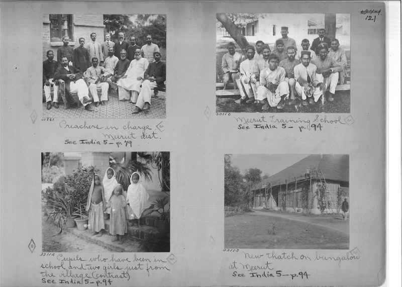 Mission Photograph Album - India - O.P. #01 Page 0121