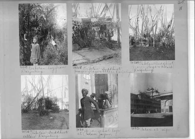 Mission Photograph Album - India #09 Page 0011