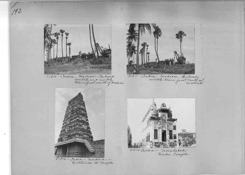 Mission Photograph Album - India #09 Page 0192