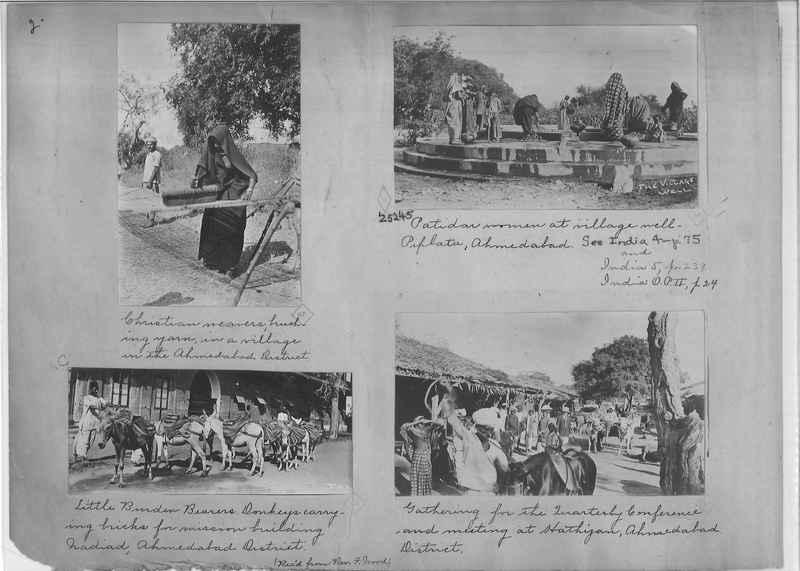 Mission Photograph Album - India - O.P. #01 Page 0002
