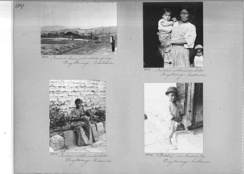 Mission Photograph Album - Panama #04 page 0104