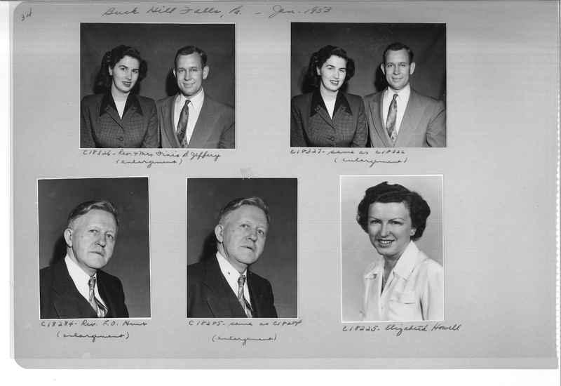 Mission Photograph Album - Portraits #08 Page 0034