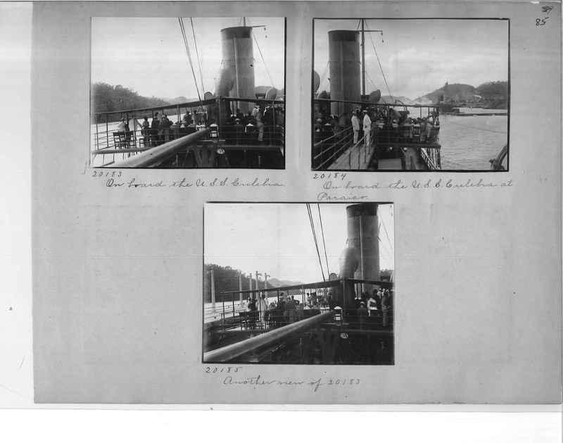 Mission Photograph Album - Panama #1 page  0085
