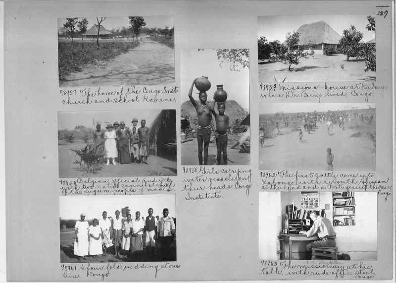 Mission Photograph Album - Africa #14 page 0127