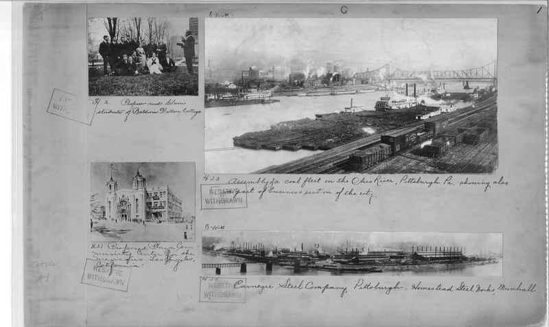 Mission Photograph Album - Cities #1 page 0001