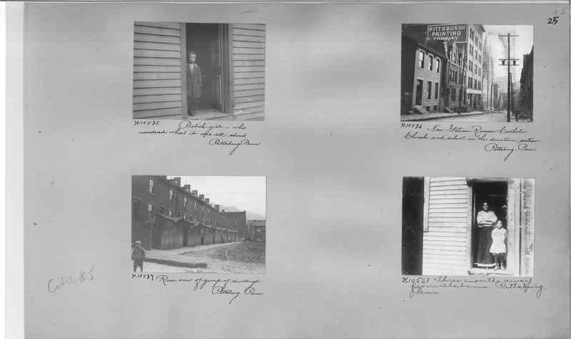 Mission Photograph Album - Cities #5 page 0025