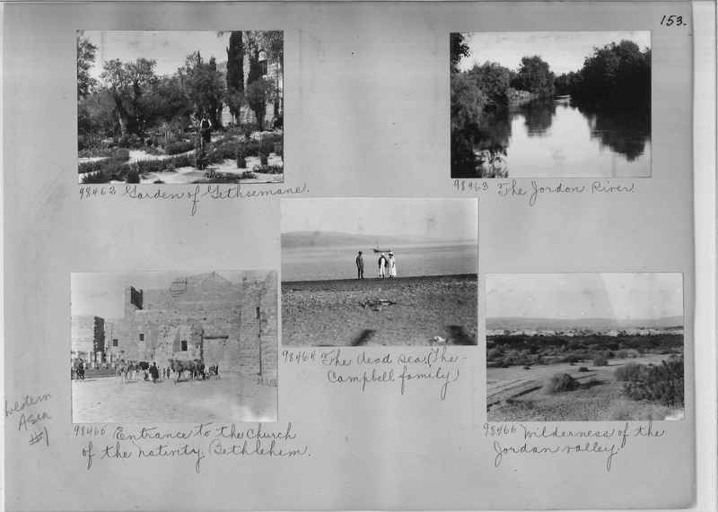 Mission Photograph Album - Western Asia - #01 page_0153