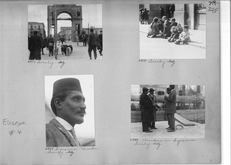 Mission Photograph Album - Europe #04 Page 0219