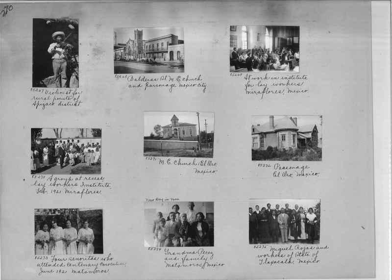 Mission Photograph Album - Mexico #06 page 0270