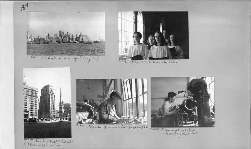 Mission Photograph Album - Cities #17 page 0184