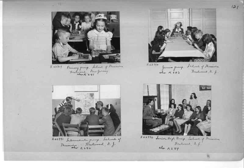 Mission Photograph Album - Cities #18 page 0121