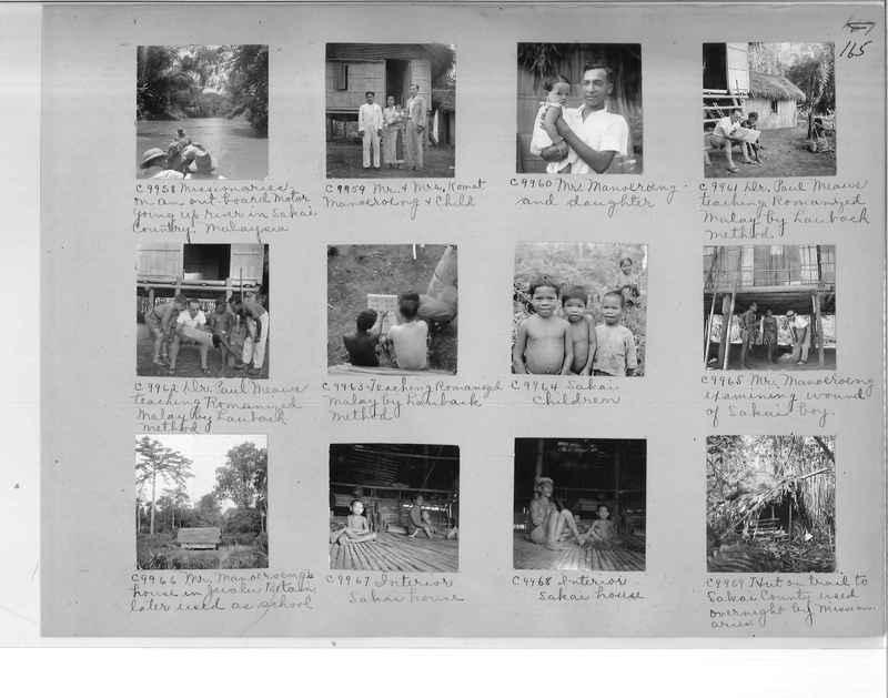 Mission Photograph Album - Malaysia #7 page 0165