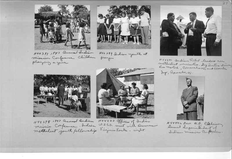 Mission Photograph Albums - Indians #3 Page_0027