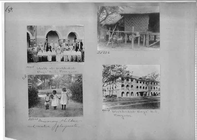 Mission Photograph Album - Burma #1 page 0054