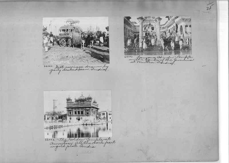 Mission Photograph Album - India #08 Page 0025