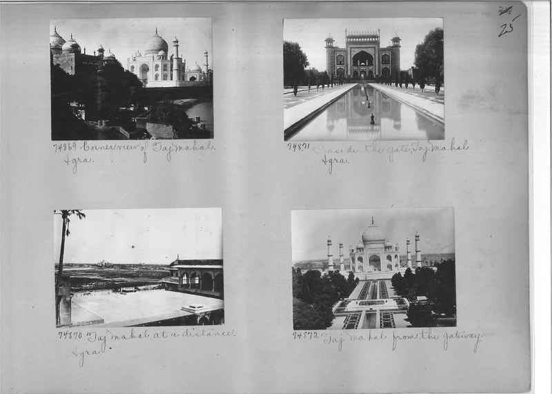 Mission Photograph Album - India #09 Page 0025