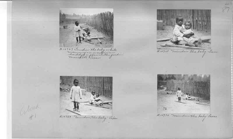 Mission Photograph Album - Negro #1 page 0087