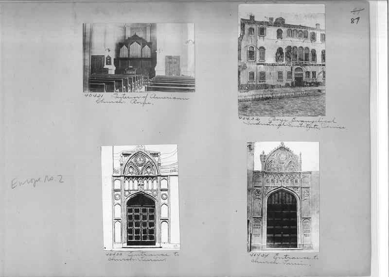 Mission Photograph Album - Europe #02 Page 0089