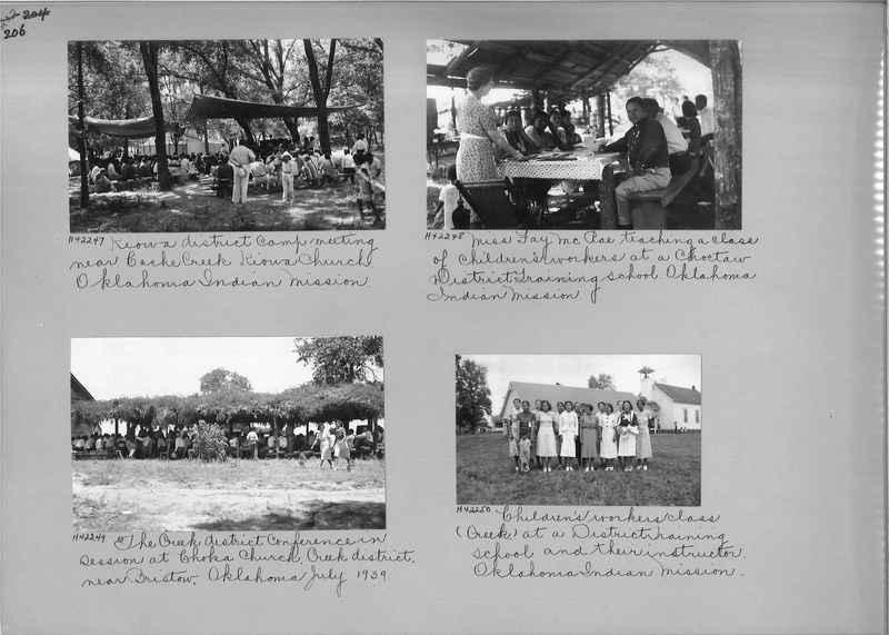 Mission Photograph Album - Indians #2 page_0206