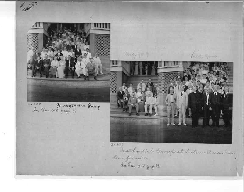 Mission Photograph Album - Panama #1 page  0180
