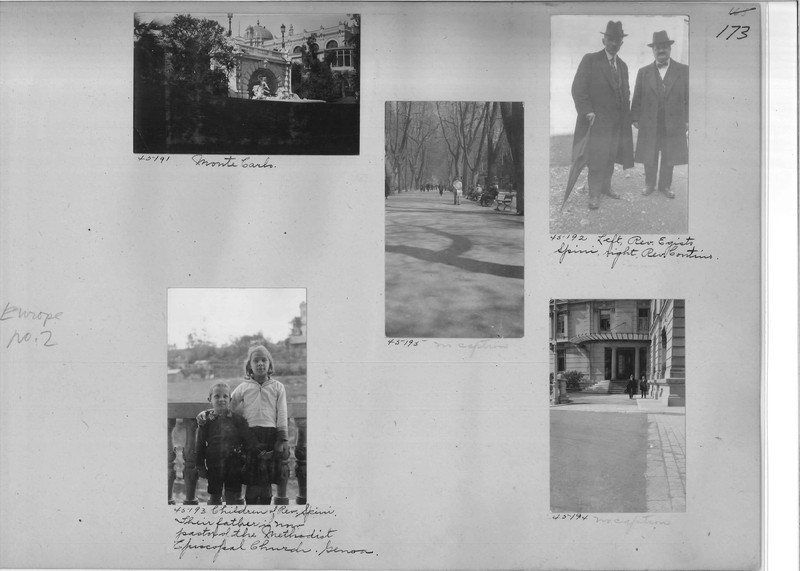 Mission Photograph Album - Europe #02 Page 0173