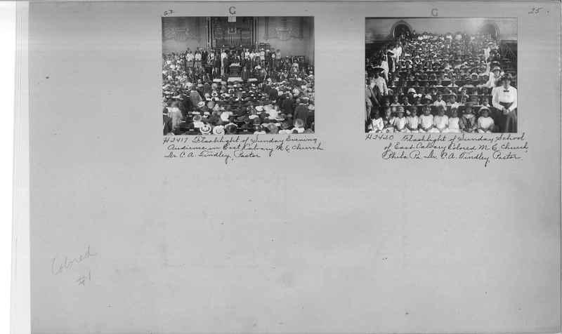 Mission Photograph Album - Negro #1 page 0025