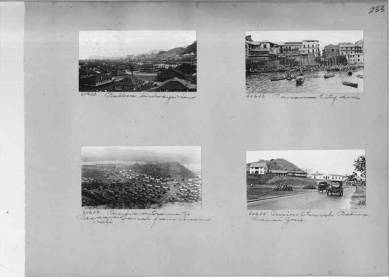 Mission Photograph Album - Panama #02 page 0233
