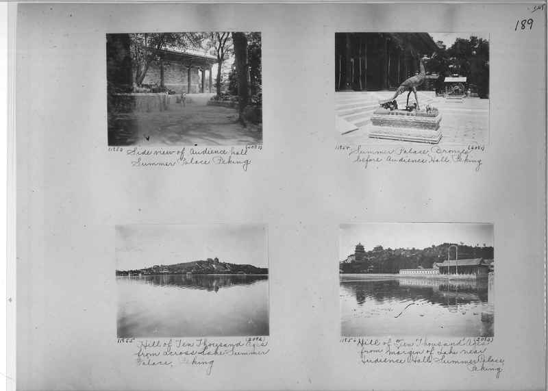 Mission Photograph Album - China #2 page  0189