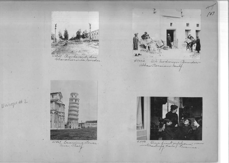 Mission Photograph Album - Europe #02 Page 0107