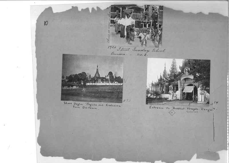 Mission Photograph Album - Burma #1 page 0010