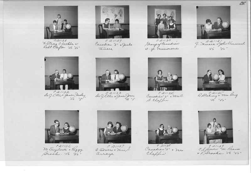 Mission Photograph Album - Portraits #10 Page 0015