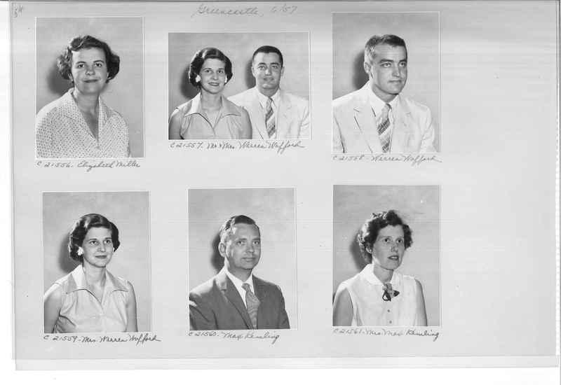 Mission Photograph Album - Portraits #10 Page 0054