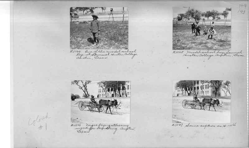 Mission Photograph Album - Negro #1 page 0143