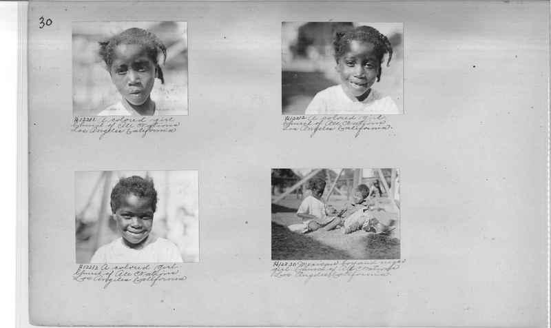 Mission Photograph Album - Negro #2 page 0030
