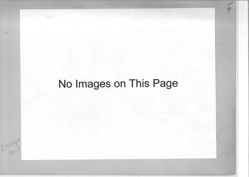 Mission Photograph Album - Europe #01 Page 0009