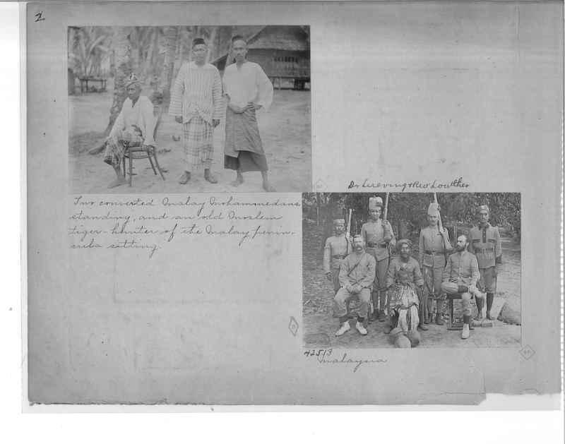 Mission Photograph Album - Malaysia O.P. #1 page 0002