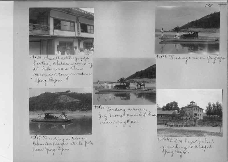 Mission Photograph Album - Korea #5 page 0193