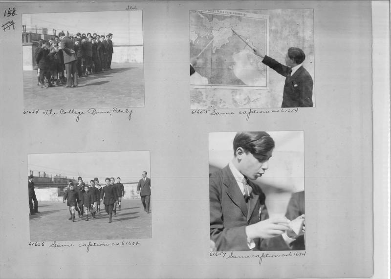 Mission Photograph Album - Europe #04 Page 0158