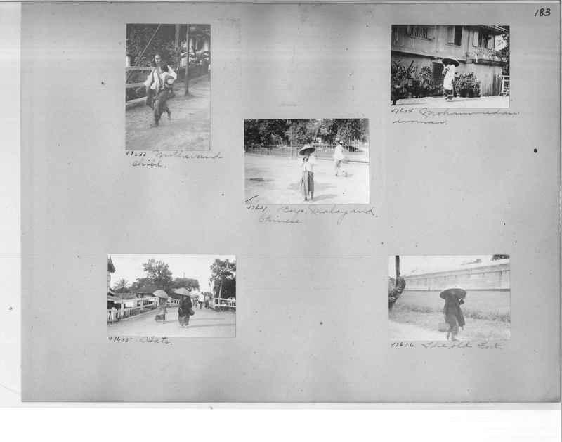Mission Photograph Album - Malaysia #4 page 0183