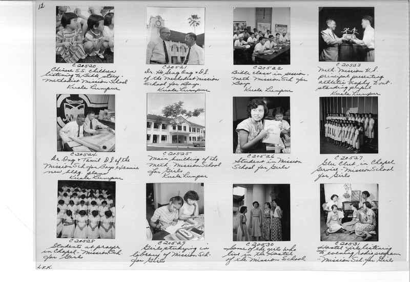 Mission Photograph Album - Malaysia #8 page 0012