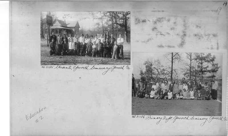 Mission Photograph Album - Education #2 page 0019