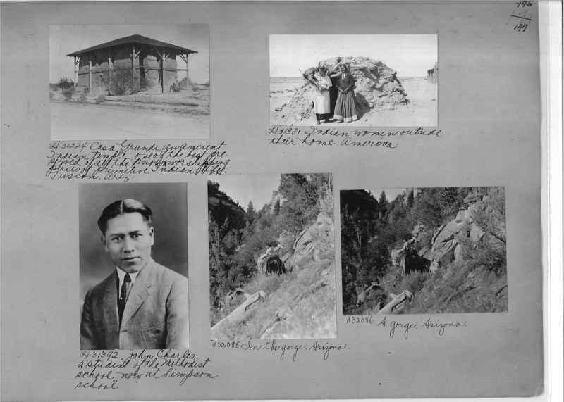 Mission Photograph Album - Indians #2 page_0177