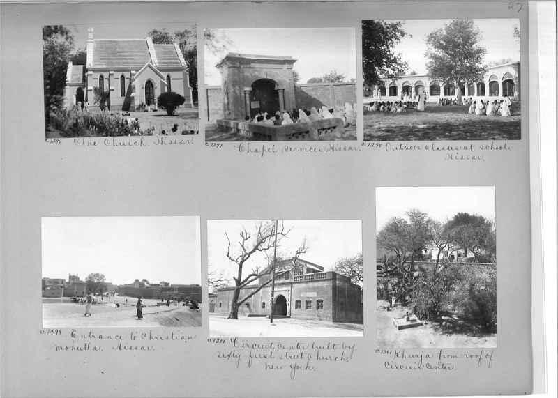 Mission Photograph Album - India #13 Page 0027