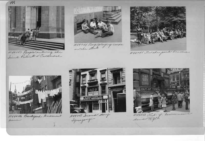 Mission Photograph Album - Cities #18 page 0144