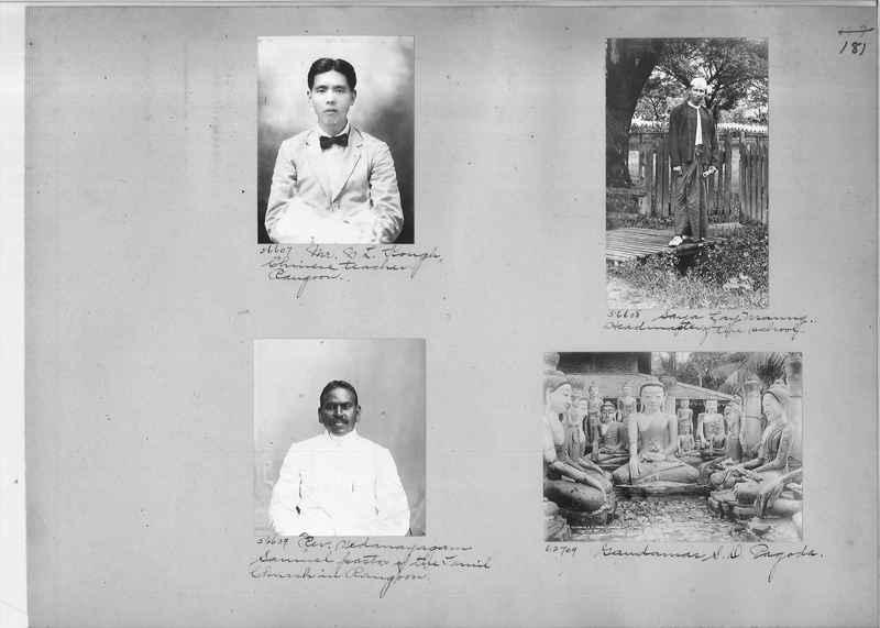 Mission Photograph Album - Burma #1 page 0181