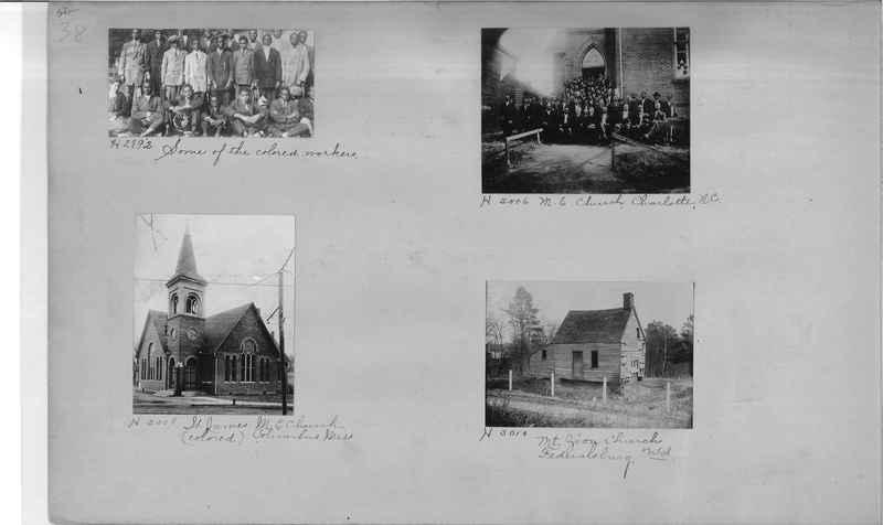 Mission Photograph Album - Negro #1 page 0038